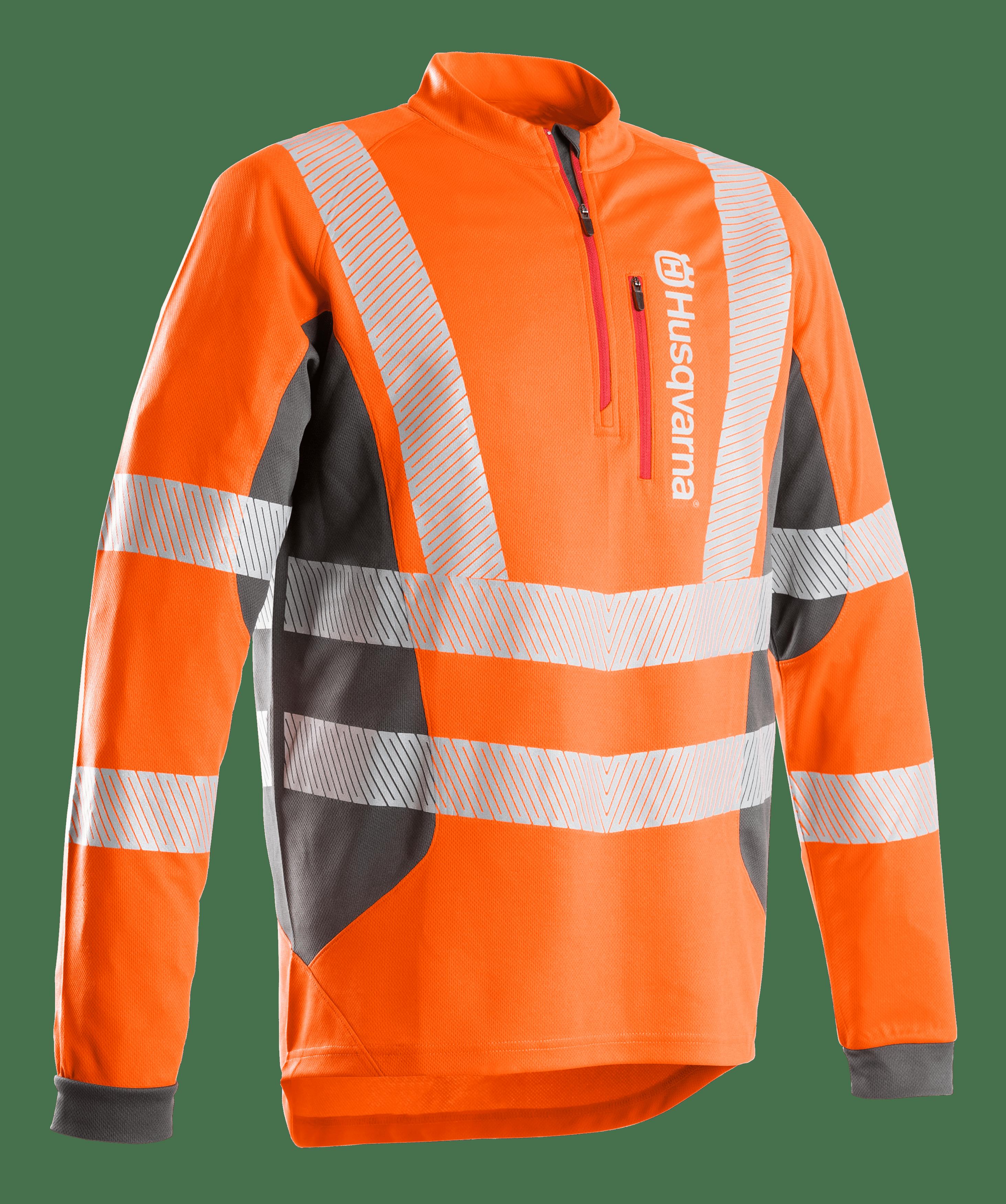 HUSQVARNA T-SHIRT Technical High Viz  Long sleeve EN20471 - V-Pro Power Equipment