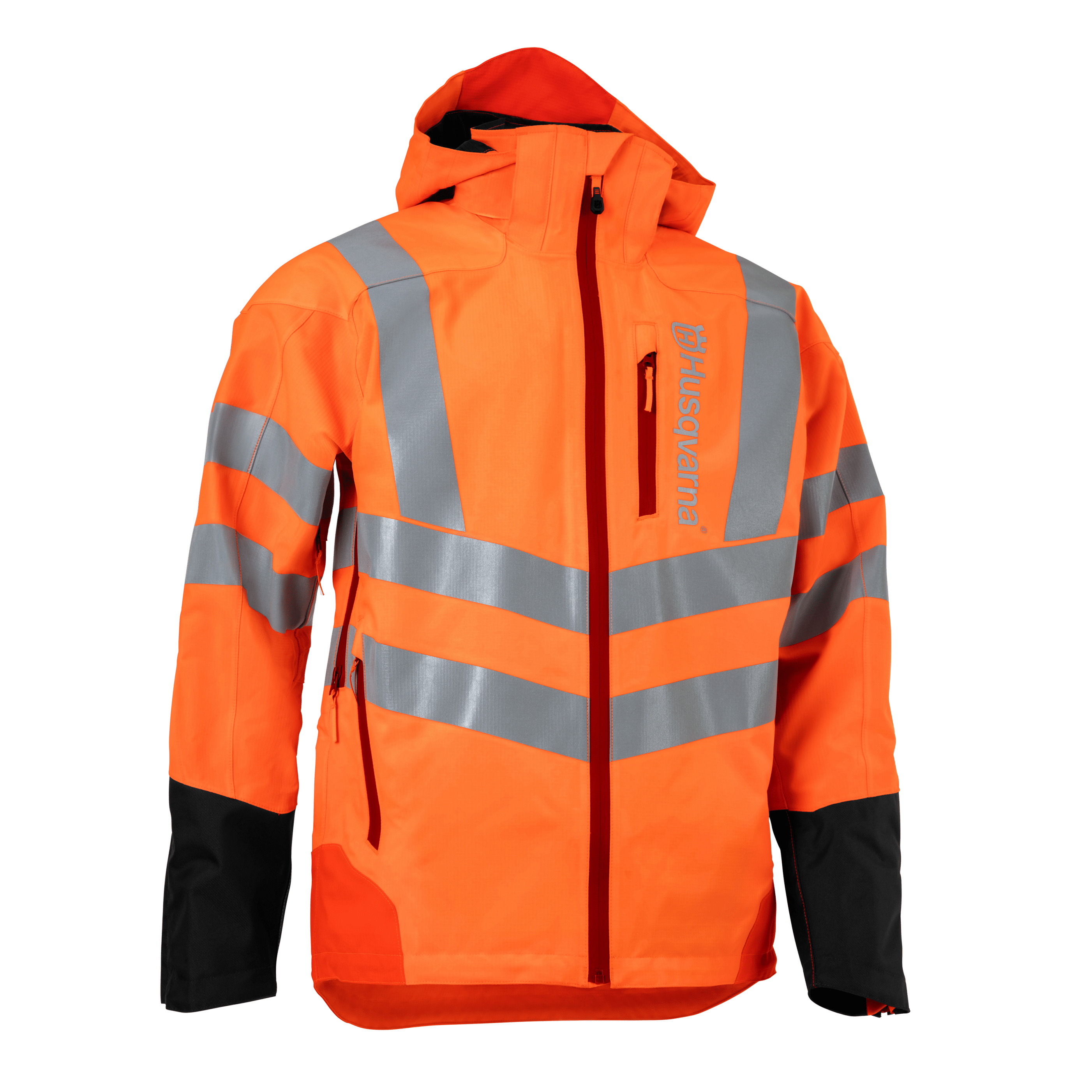 HUSQVARNA Rain Jacket Vent High-Viz, Technical - V-Pro Power Equipment
